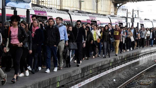 Illustration grève SNCF.