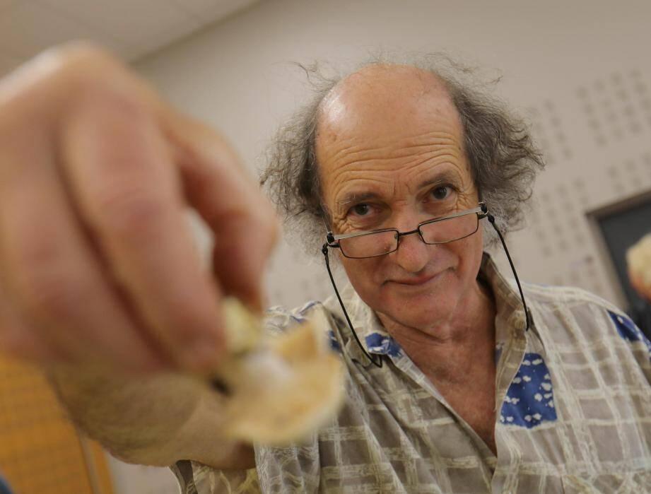 Philippe Pinchon, président du groupe mycologie et botanique de Lorgues.