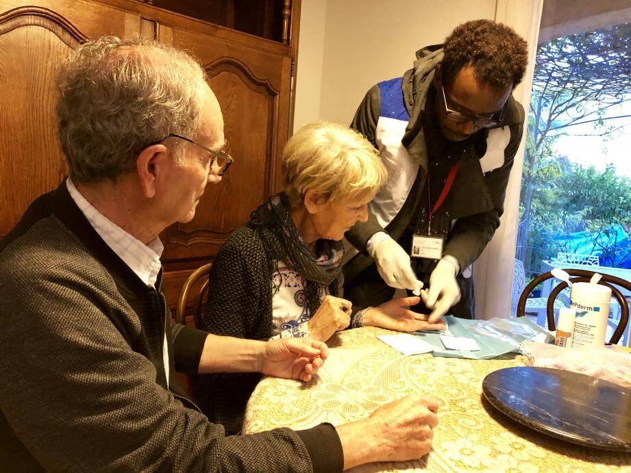 Daniel et Françoise Valentin se sont montrés coopératifs.