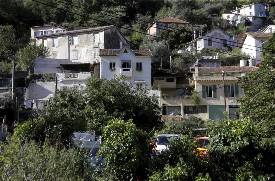 La cité arménienne du quartier de la Madeleine, à Nice.