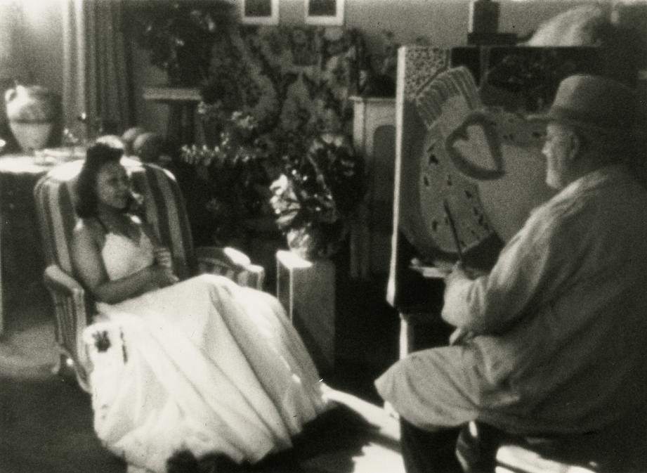 """Un extrait du film """"Henri Matisse"""" de François Campaux."""