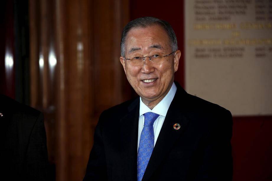 Ban Ki-moon, huitième secrétaire général des Nations Unies, de 2007 à 2016.