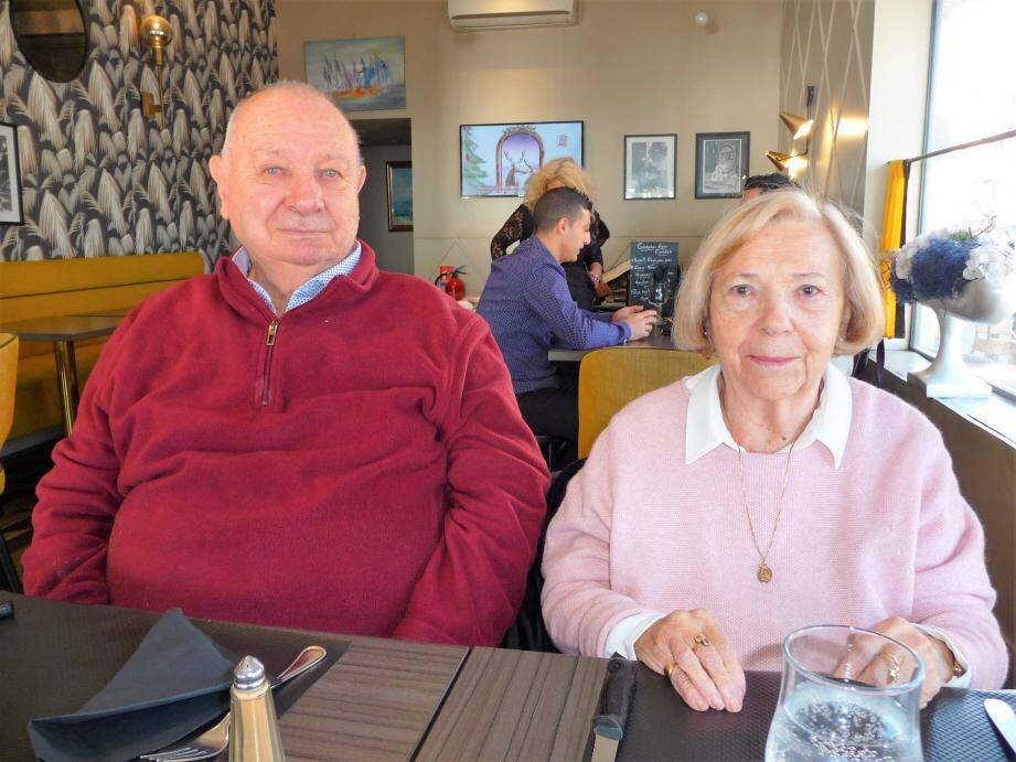 Jean-Baptiste et Alice Franco, l'an passé, le jour de Noël. Ils avaient fêté leurs 60 ans de mariage le 17 octobre.