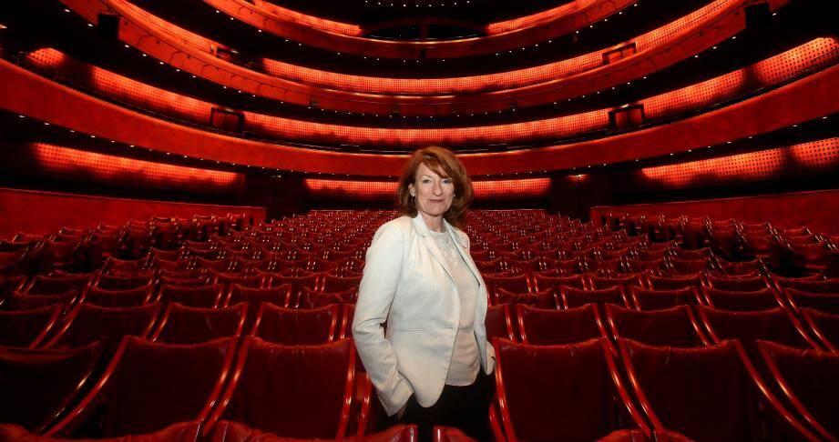 Muriel Mayette-Holtz, la nouvelle patronne du théâtre national de Nice.