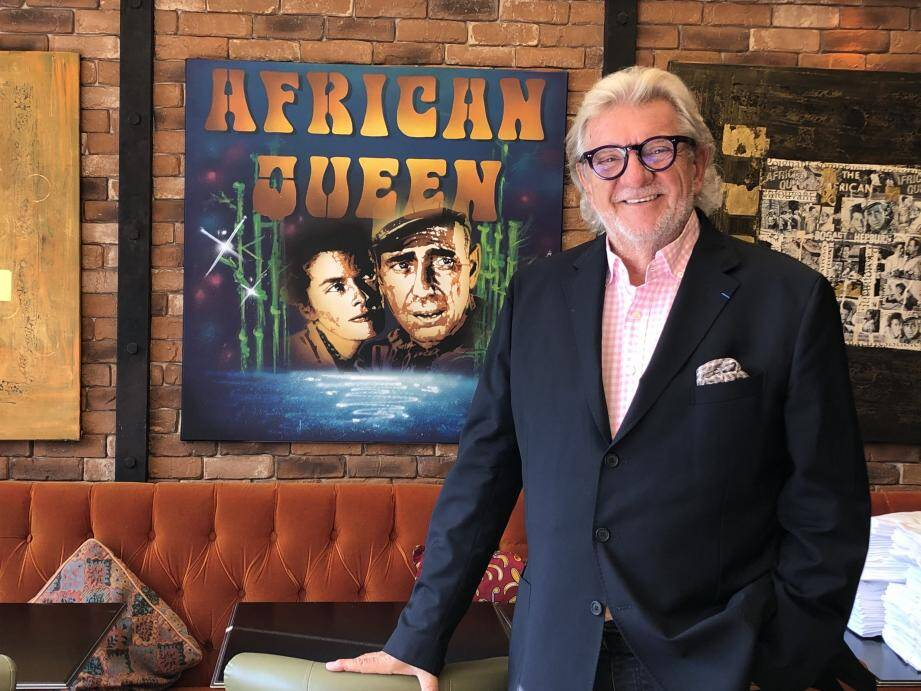 Gilbert Vissian veille au grain. Tous les ans, ce sont quelque 120.000 clients qui viennent se restaurer à L'African Queen et à L'Atelier d'Emile, ce qui fait de la holding le 3e employeur de Beaulieu.