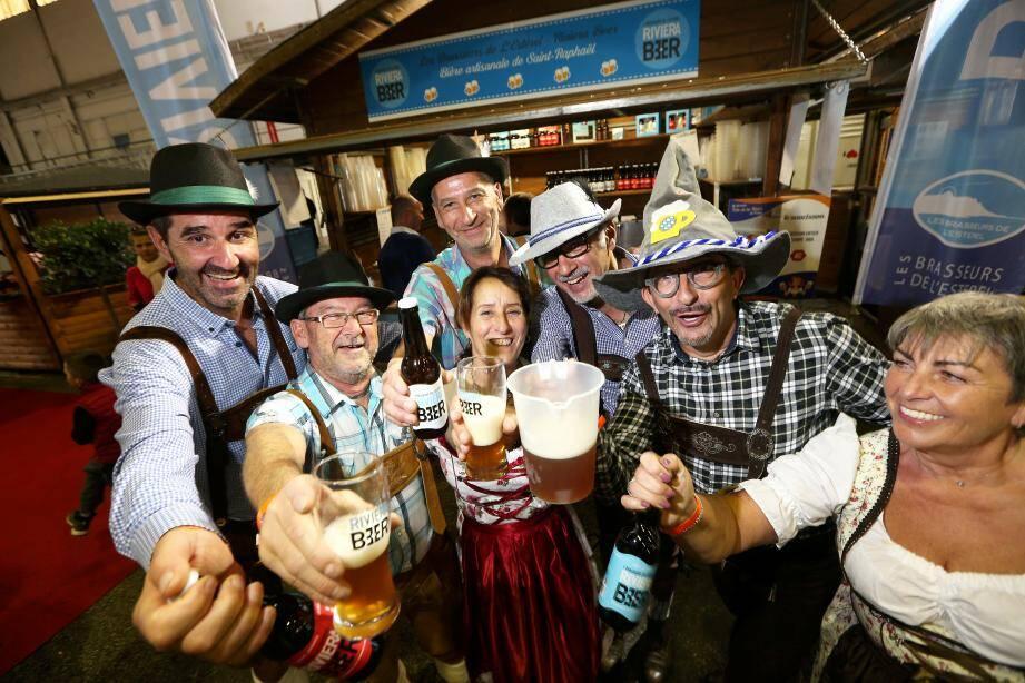 La fête de la bière à Fréjus
