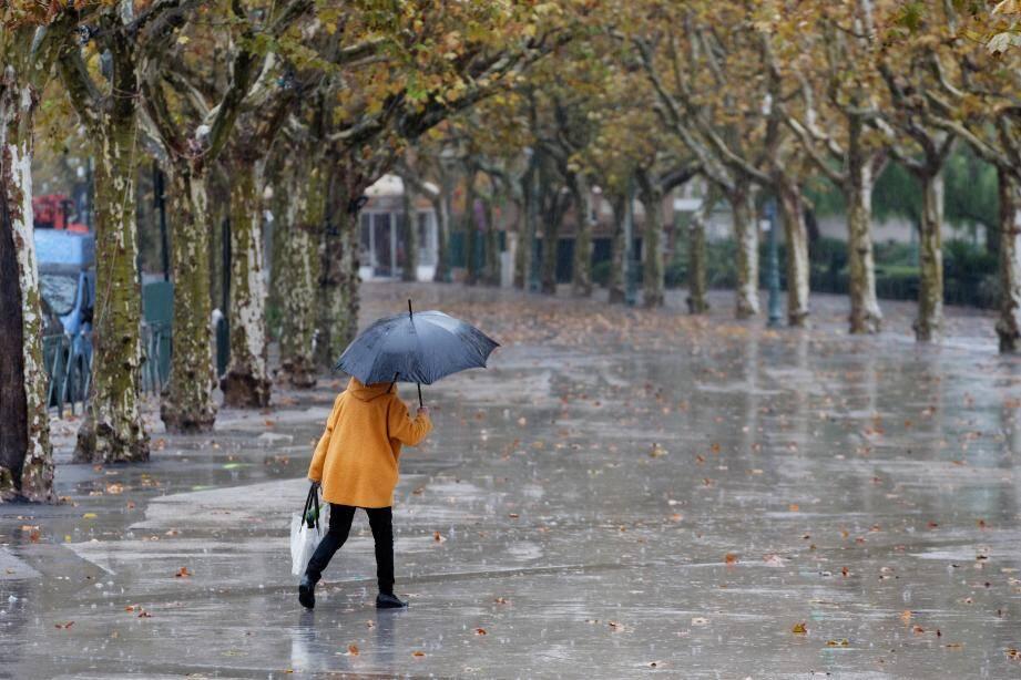 De la pluie à Sanary.