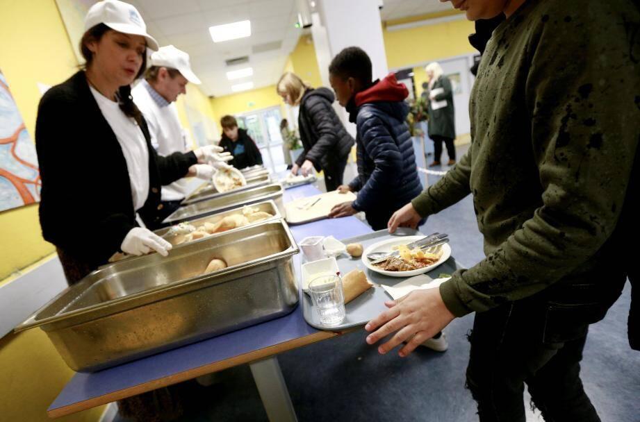 Sur les 420 repas servis, 46,2 kg de déchets ont été jetés.