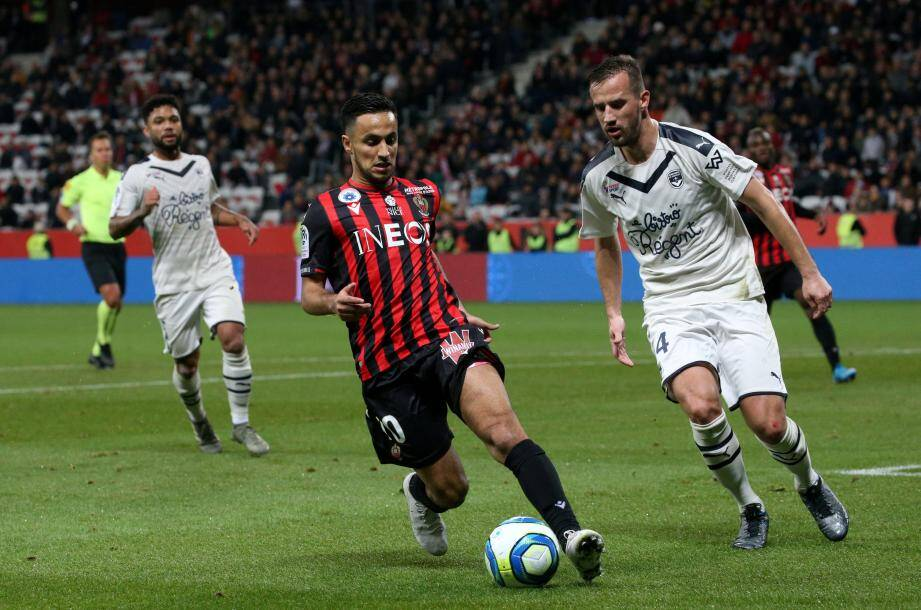 Cinq jours après avoir battu Reims, l'OGC Nice n'a pu faire que match nul contre une très belle équipe des Girondins de Bordeaux ce vendredi soir à l'Allianz Riviera (1-1).