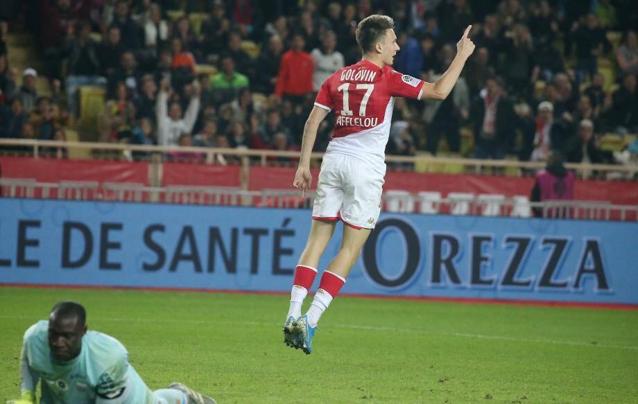 Golovin a ouvert le score pour Monaco.