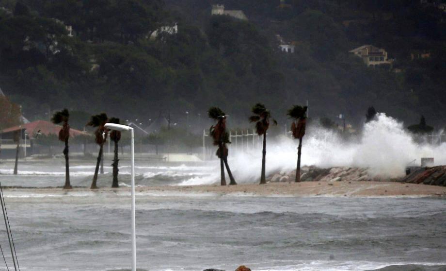 Attention au vent violent à Toulon!