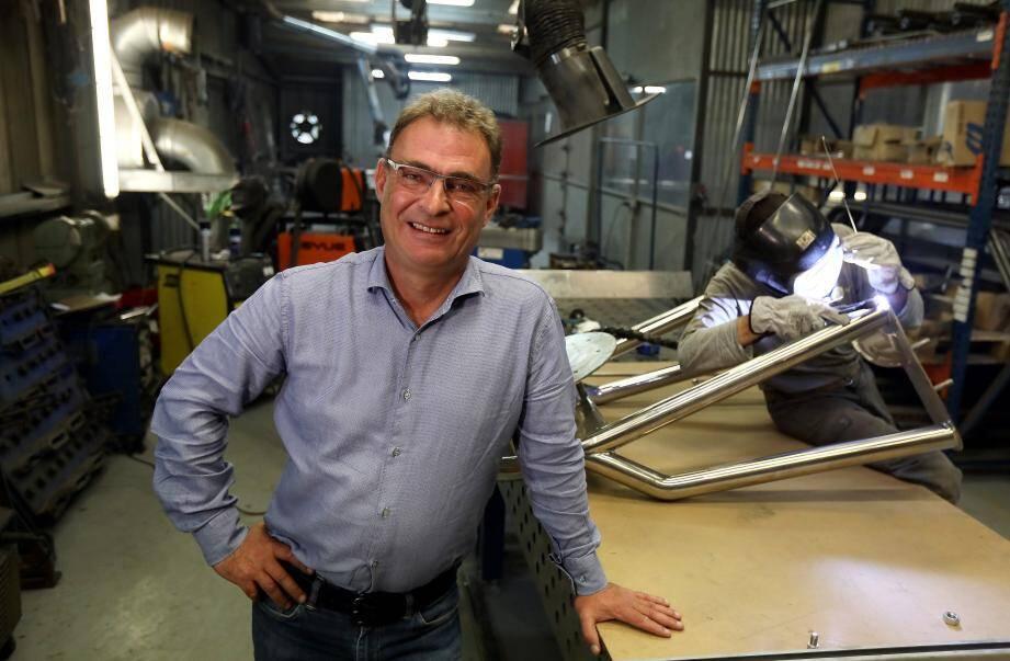 """""""On sait tout traiter, construire, réparer, tant que ce n'est ni du plastique, ni du bois"""": Marc-Antoine Gonin, directeur des opérations chez Acti Développement."""