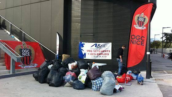 Les vêtements collectés seront répartis entre différents centres des Restos du Cœur à Nice