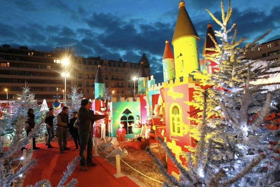Le village de Noël est installé place de la Liberté à Toulon, jusqu'au 31 décembre.