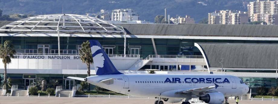 L'aéroport d'Ajaccio reste fermé ce mardi.