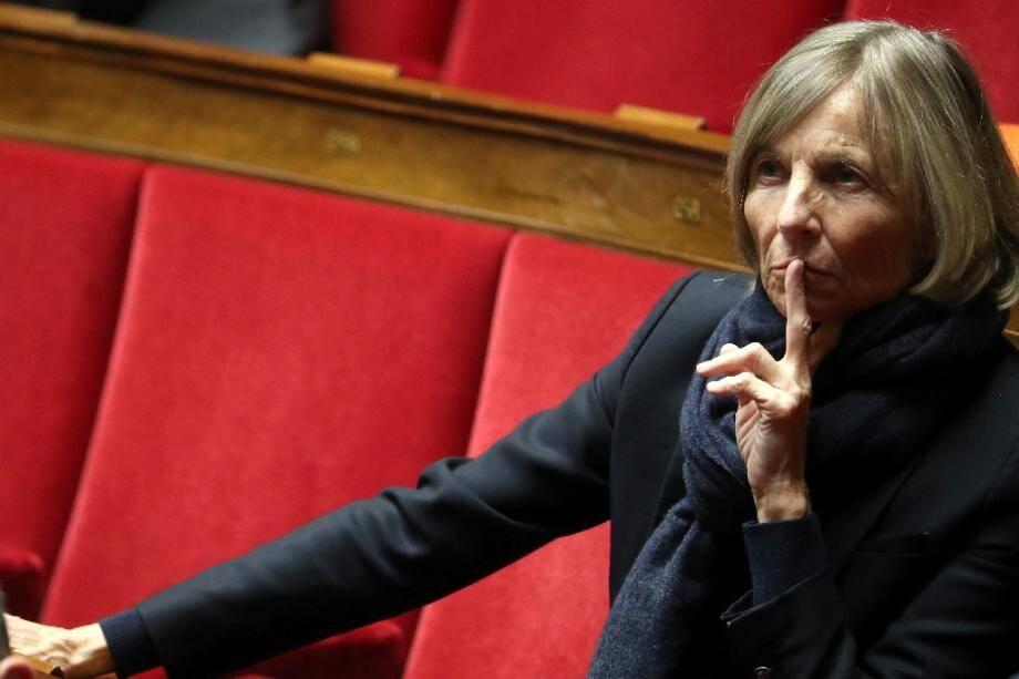 Marielle de Sarnez sur les bancs de l'Assemblée nationale, le 6 mars 2019