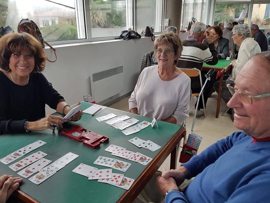Trois fois par semaine une quarantaine de joueurs s'affrontent lors d'un tournoi.