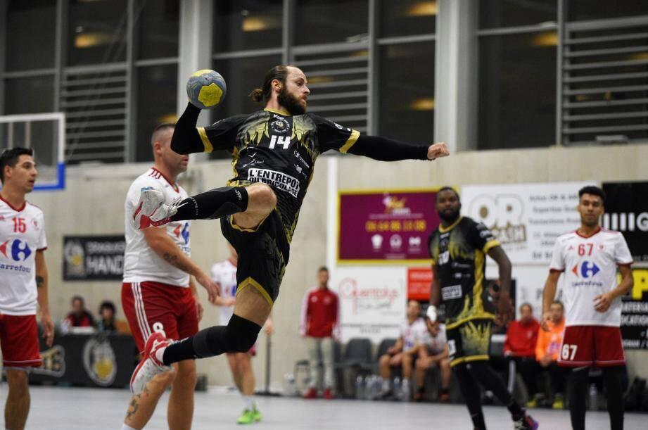 Les handballeurs dracénois se sont fait très peur en seconde période.