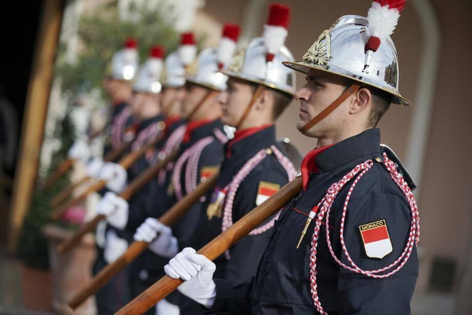 La célébration de la Sainte-Barbe, un symbole fort pour marquer la cohésion des sapeurs-pompiers dirigés par le lieutenant-colonel Norbert Fassiaux.