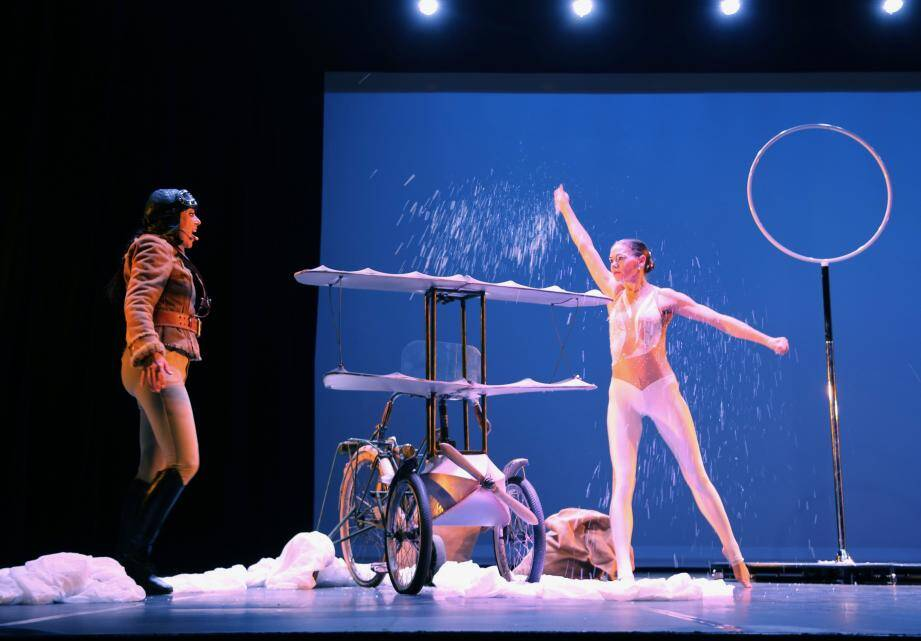 Avec ce joli conte, la compagnie théâtre des lumières présente son spectacle de Noël au théâtre municipal. (DR)