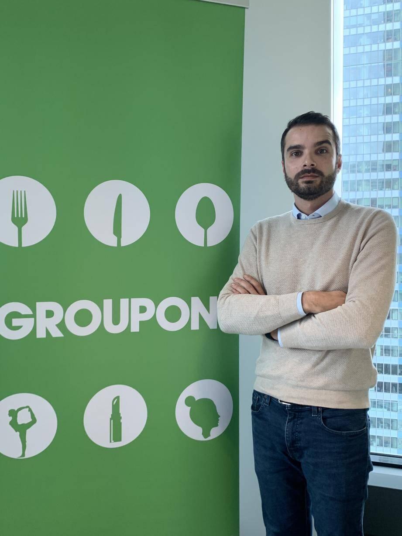 « La France est le 2e plus gros marché européen de Groupon, précise Jordan Behem. Près de 60 % de nos acheteurs affirment qu'ils reviennent toujours-souvent dans les commerces qu'ils ont découvert via nos deals. »(D.R.)