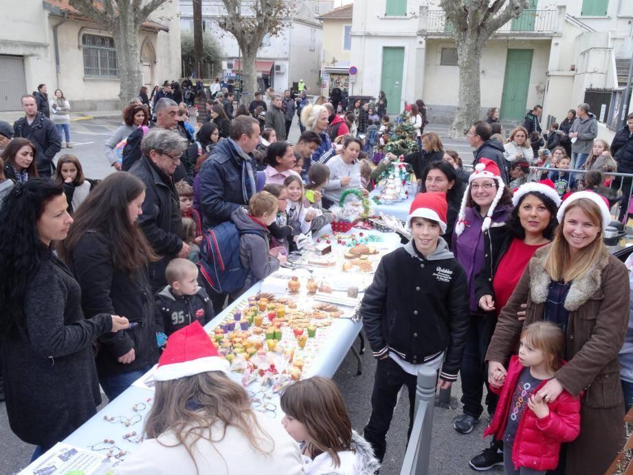 Le marché de Noël à l'école Gachon aura bien lieu cette année encore malgré les désagréments dus aux inondations.