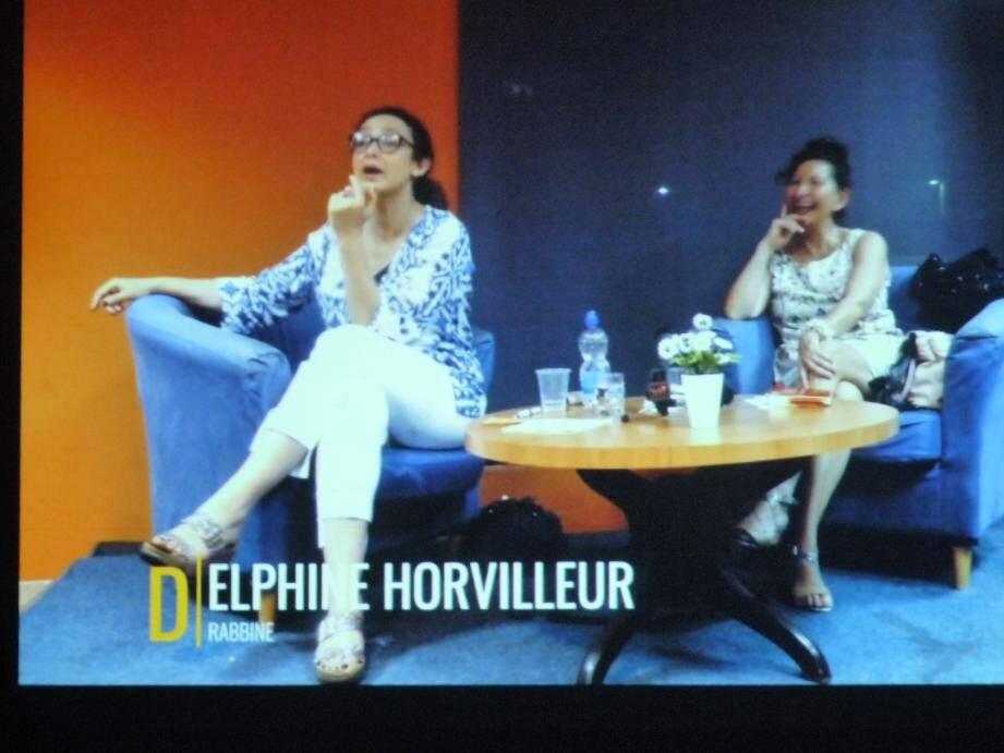 Delphine Horvilleur, rabbin libéral en France, a accompagné les membres de « Pax Medicalis » en Israël et a donné des conférences passionnantes.