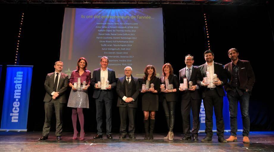 La onzième cérémonie, édition de la maturité ! Le palmarès 2019 des Trophées de l'Eco des Alpes-Maritimes a été dévoilé au Casino Terrazur, hier soir, en présence de plus de 200 entrepreneurs et décideurs du monde économique.