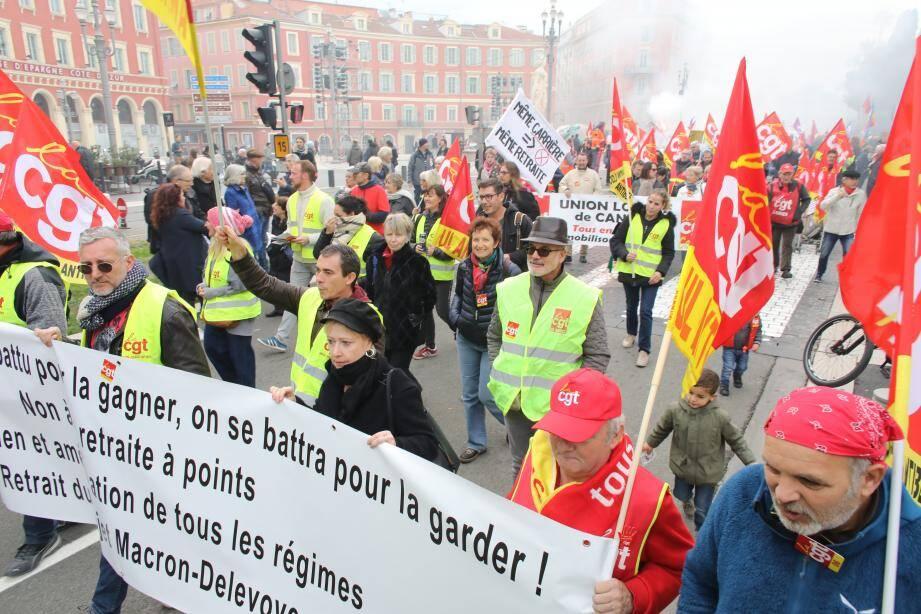 Jeudi dernier, premier jour du mouvement, des milliers de personnes ont battu le pavé niçois. Une mobilisation historique.