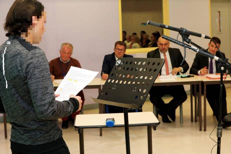 Quatorze candidats ont participé au concours d'éloquence de la maison d'arrêt.