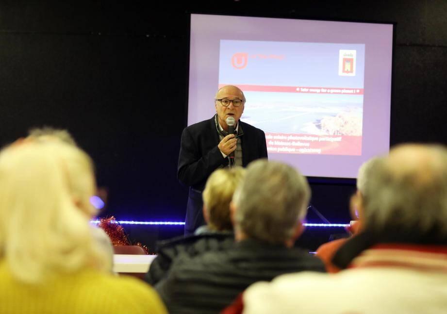 Jean Bacci, maire de la commune de Moissac-Bellevue et initiateur du projet participatif.