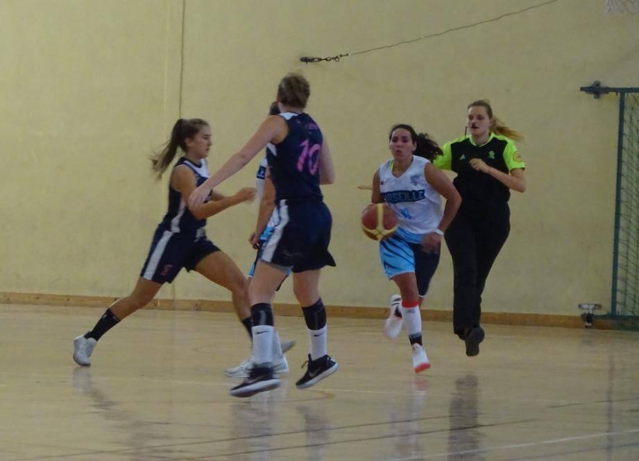 Les Varoises ont pris leur match par le bon bout sur le parquet du Vence Basket Club.