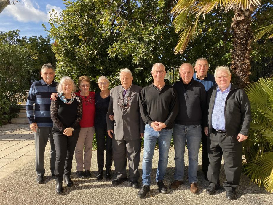 Les membres du conseil d'administration : R. Berti, C. Lardat, M. Berti H.Loussouarn, L. Fiori, J.Quentin, J.P. Trouboul, M.Cavallo et M. Allouch.