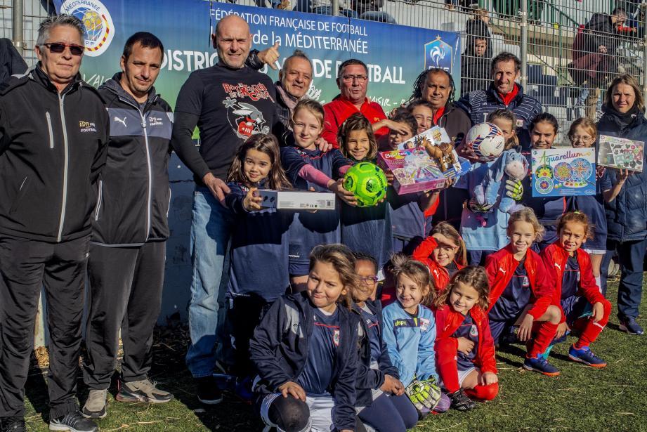 L'ASPTT Hyères et ses féminines à l'origine d'une journée sportive et caritative.