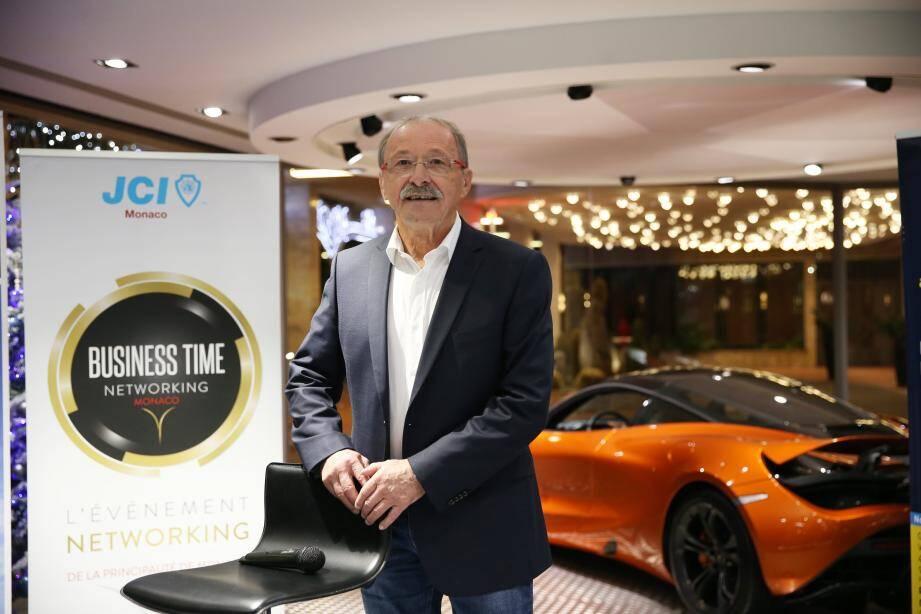 C'est à l'invitation de la Jeune chambre économique de Monaco que l'ancien sélectionneur du XV de France a tenu une conférence à Monaco.