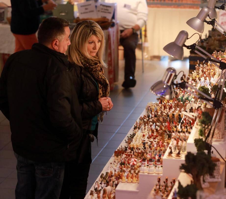 La 51e foire aux santons se poursuit jusqu'au 22 décembre au musée du vêtement provençal.
