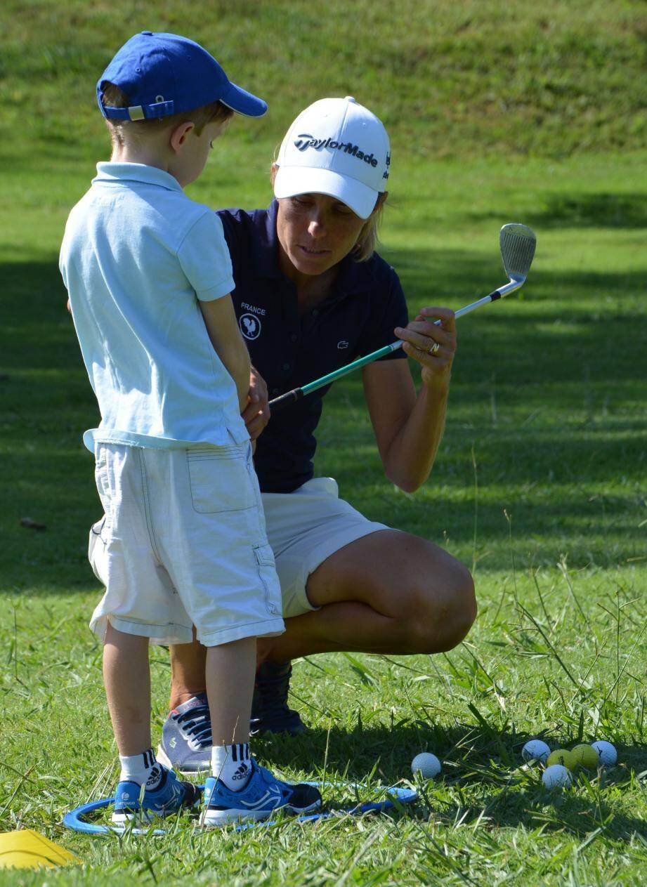 Les jeunes pousses sont l'avenir du golf.