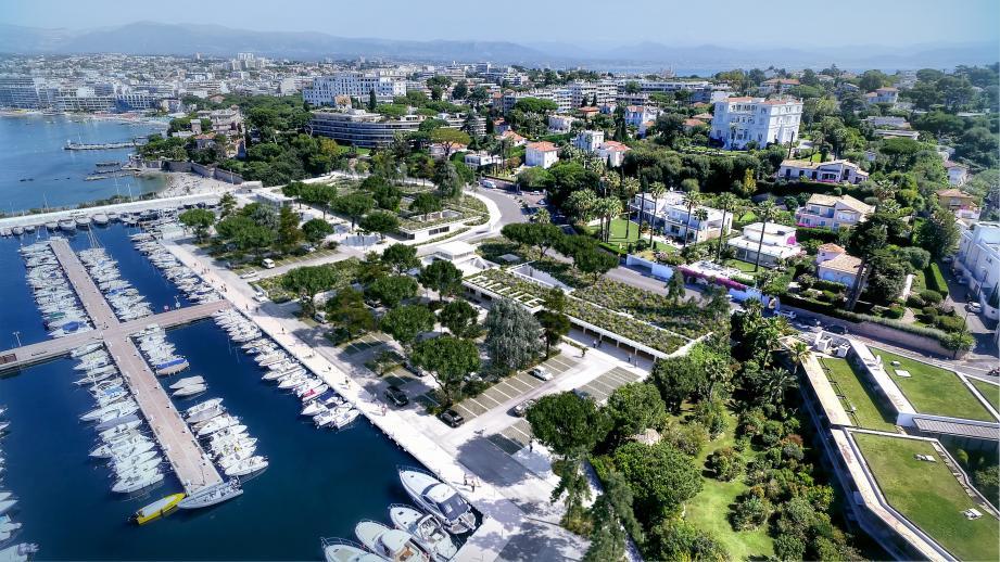 Le futur port Gallice arborera un visage bleu, blanc, vert.