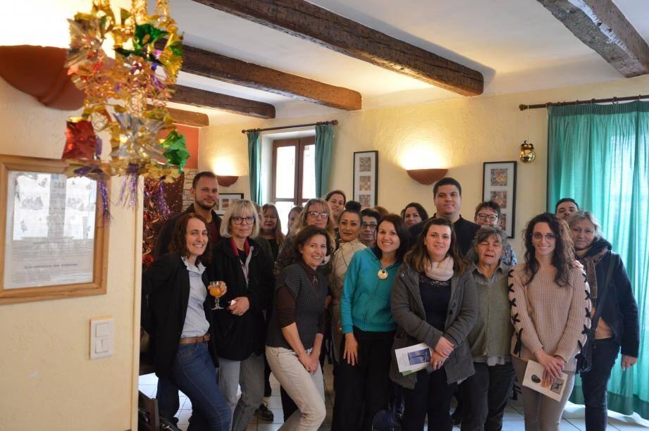 Sabine Juan (à gauche) a permis aux jeunes entrepreneurs de rencontrer d'autres créateurs ou repreneurs et de commencer un maillage entrepreneurial sur la Provence verte.