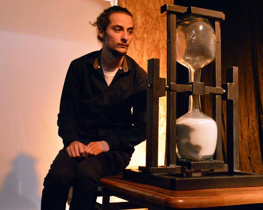 Lucas Gimello sera sur la scène du théâtre Georges-Brassens ce samedi au profit du Rotary club. (DR)