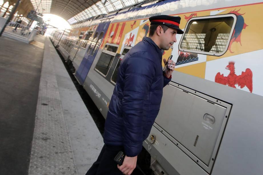 Photo illustration Gare de Nice