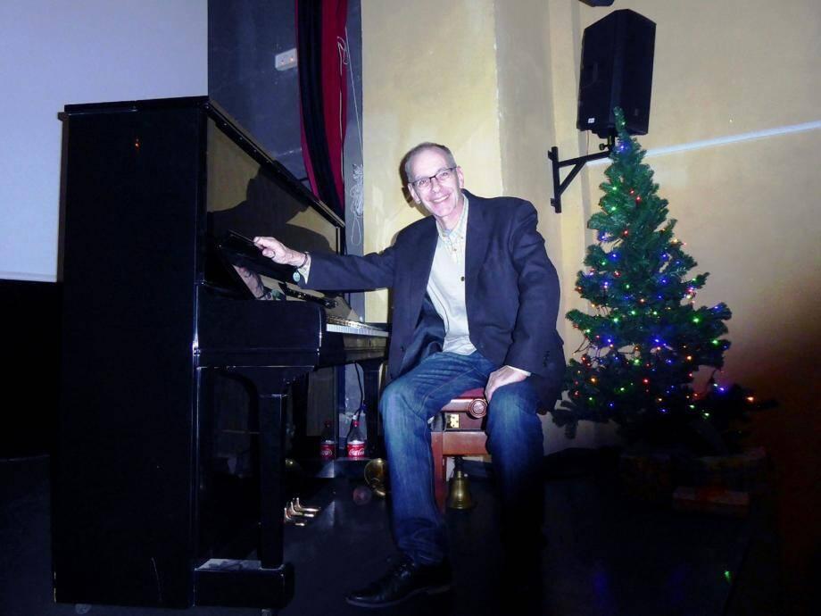 Le pianiste Michel Colin animera les films au piano. (DR)