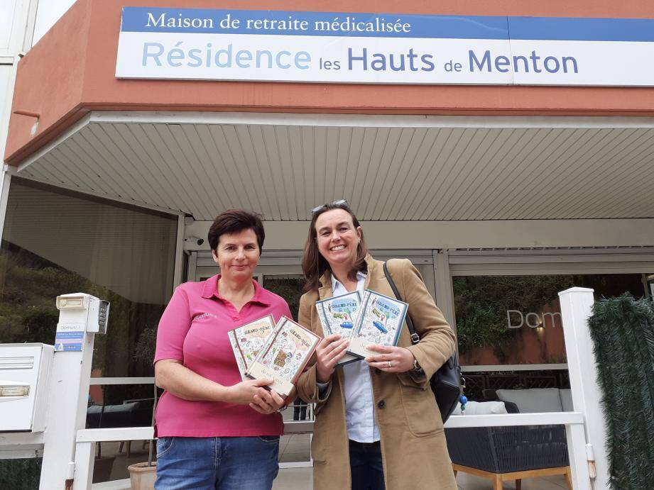 Un beau geste pour les pensionnaires des Hauts de Menton.(DR)
