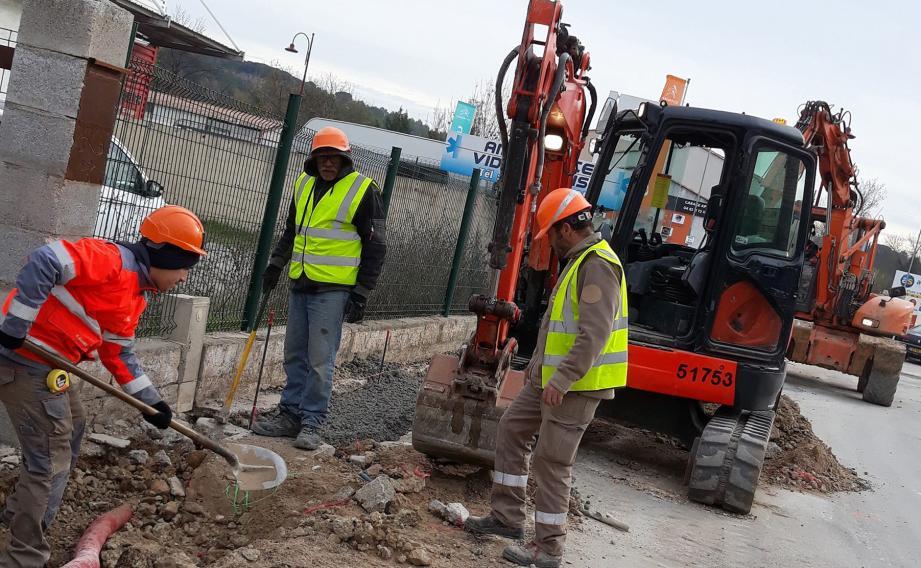 Dernière ligne droite pour les travaux engagés en octobre dernier.