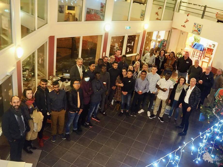 La soirée était également l'occasion d'accueillir les partenaires du FJT, notamment les employeurs.