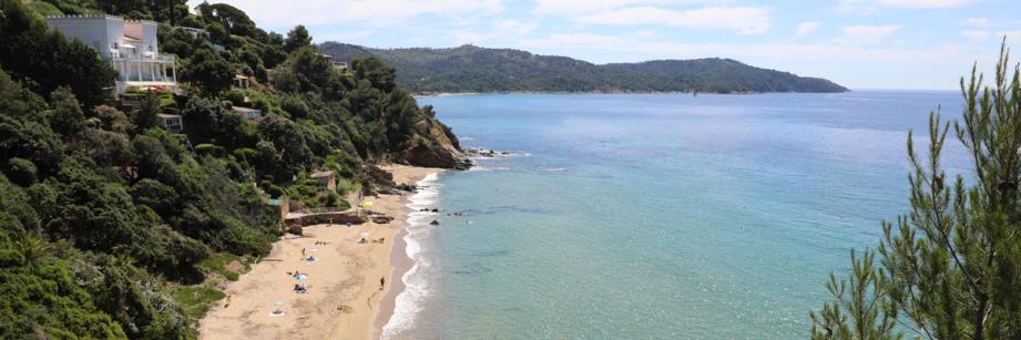 La plage de Sylvabelle.