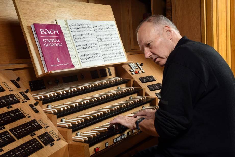 Henri Pourtau fera chanter les grandes orgues de N-D de Bon-Voyage en ce jour de Noël. (DR)