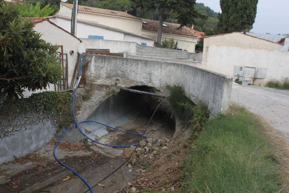 Le vallon des Clausonnes va faire l'objet de travaux d'aménagement.