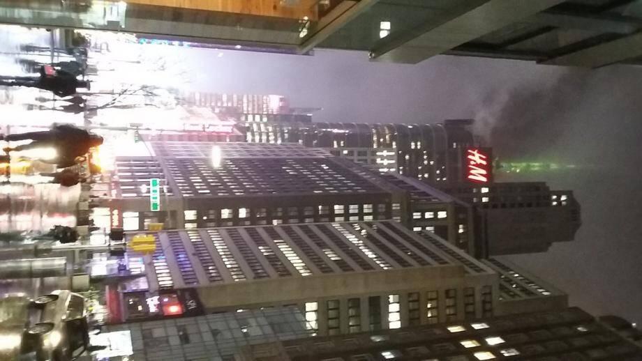 « New-York soir de pluie » de Chantal et Isabelle Leduc, à la 5e place.