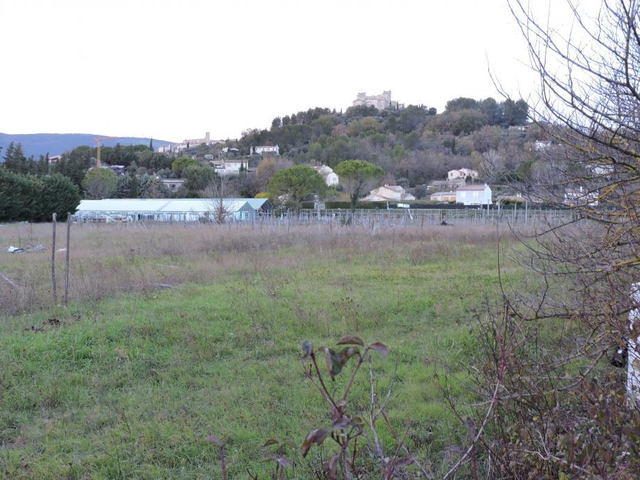 L'acquisition du terrain de la Grande Bastide, une des priorités des élus tourrettans.